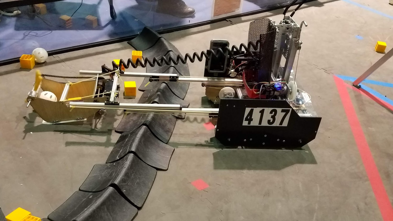 Our robot 2018-19